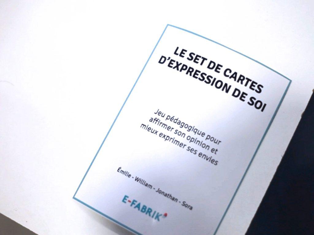 Set de cartes d'expression