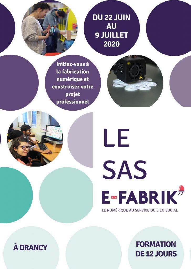 Candidater au SAS E-FABRIK'