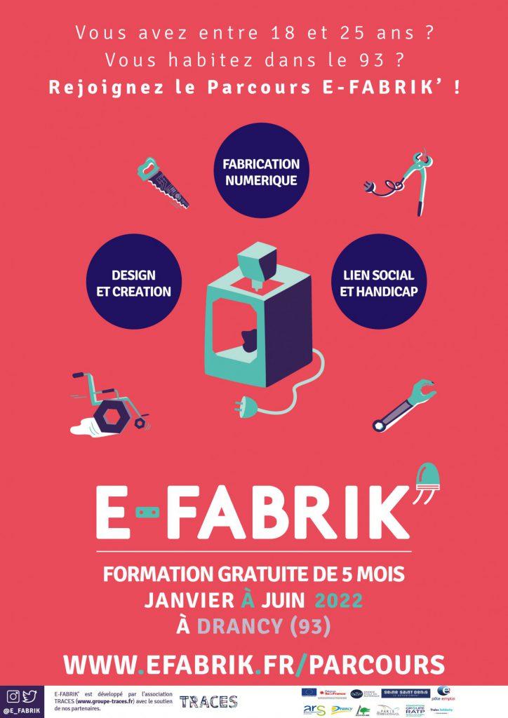 Candidater au Parcours E-FABRIK'